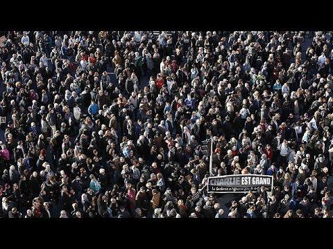 Mobilisation historique à Paris contre le terrorisme