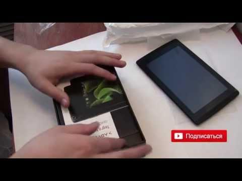 Nvidia Tegra Note 7 на процессоре Tegra 4  – Комплектация и распаковка.