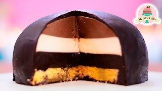 TRIPLE CHOCOLATE BOMB | NO BAKE | MY LITTLE CAKES