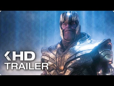 AVENGERS 4: Endgame - 8 Minutes Trailers & Clips (2019)