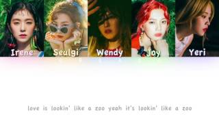 Red Velvet (레드벨벳) - Zoo | Color Coded HAN/ROM/ENG Lyrics