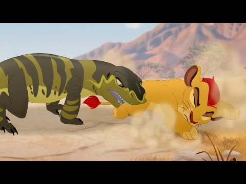 Lion Guard: Kenge's Attack | The Bite of Kenge HD Clip