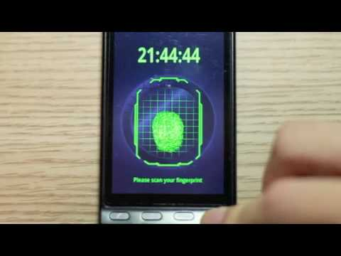 Video of FingerPrint Scanner