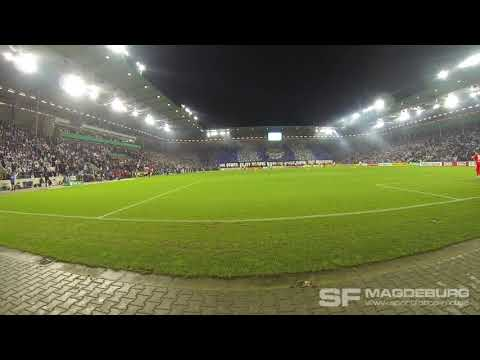 Video: Choreo und Support: 1. FC Magdeburg - Borussia Dortmund 24.10.2017 (HD Okt. 2017)