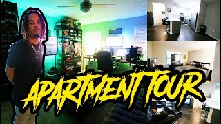 """WATCH IN 4kI finally got the apartment fixed up enough to give you a FULL tour of my apartment. If you like this hit the thumbs up so we can drop a FULL DETAILED studio tour for you guys. Thank you guys love you !!!COP THE SQUATTY POTTY HERE  - https://bit.ly/2tjERDKSub To My VLOG CHANNEL: https://bit.ly/1PhDL43MY TWITCH - https://www.twitch.tv/2wildgaming2WILDSCloset - http://www.2wildscloset.com/WANNA SEND ME SOMETHING ?TONYD2WILD LLCPO BOX 33292DECATUR, GA 30033-0292MAJORITY OF MY BACKGROUND MUSIC IS BY MY BROTHER STU LIVE... YOU CAN FIND HIS BEATS HERE: https://bit.ly/1LnpA8XSocial MediaSample Industries - www.SAMPLEIND.comTwitter: http://twitter.com/ToNYD2WiLDStealsNDeals: http://twitter.com/stealsndeals23Instagram: http://instagram.com/tonyd2wildFacebook: http://www.facebook.com/tonyd2wildContact: tonyd615@gmail.comMY SETUP:Canon 6D - http://bit.ly/1Os3u4KVlog Camera - http://bit.ly/1OV2MApTripod - http://bit.ly/1Os3zp1Lighting Equipment - http://bit.ly/1Os3NN5MY DEMENSIONSHeight: 5'8Weight: 170lbsWaist: 34Shirt Size: M/LShoe Size: 8.5-9CHECK OUT ALL MY MUSIC HERE: https://soundcloud.com/tonyd2wildSUB TO 2WILD PRODUCTIONShttps://www.youtube.com/channel/UCbhGvACK7D5HGBO-VIet5-gDISCLAIMER:ALL OF MY VIDEOS ARE BASED SOLELY UPON MY OWN EXPERIENCE, I AM NOT HERE TO PERSUADE YOU NOR AM I TELLING YOU WHERE TO BUY FROM... I CREATED A VISUALS AND AUDIO IN THIS VIDEO.  MAJORITY OF THE LINKS TO PRODUCTS ARE AFFILIATED, LINKS WITH """"BIT.LY"""" ARE AFFILIATED."""