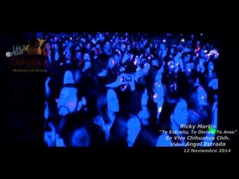 """Ricky Martin – Adrenalina Live tour en Chihuahua Capital Moderna """"Te Extraño,Te Olvido,Te amo""""."""
