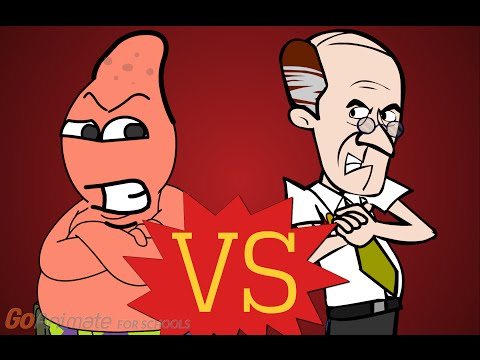 Go!animate For Schools:Patrick Star Vs. Bennet(Last Patrick Star Gets Grounded)