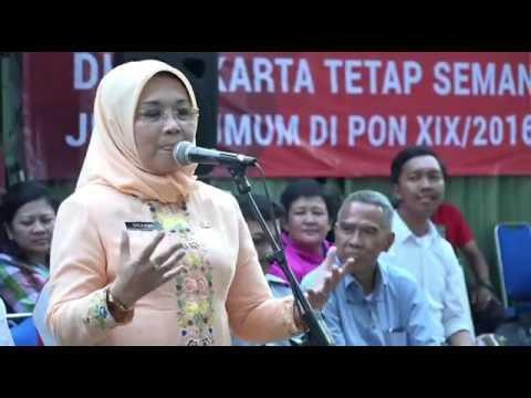 Kunjungan Deputi parawisata dan Budaya Hj. Sylviana Murni