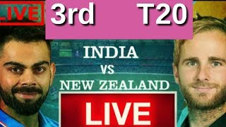 live match: India vs New Zealand 3rd T20 , preview, Live score #indvsnz