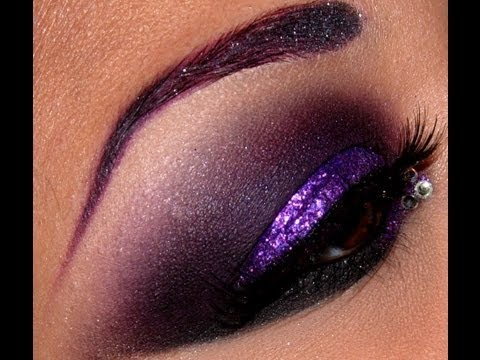 make up - midnight queen tutorial