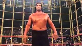 Batista vs The Great Khali No Mercy 2007 Punjabi Prison....