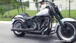 9. 2013 Harley Davidson FatBoy Lo - Used Motorcycles for sale