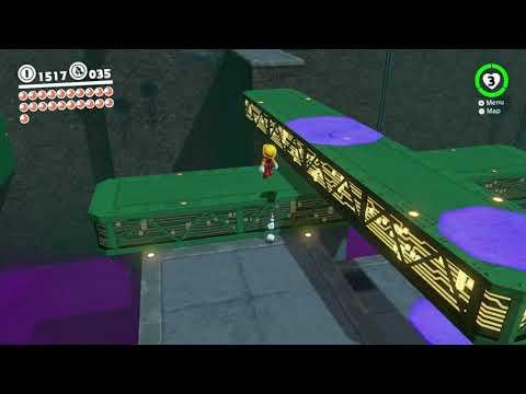 Super Mario Odyssey - Metro Kingdom Moon #6: Powering Up The Station 🌙
