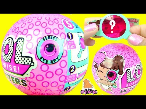 КУКЛЫ ПУПСИКИ ЛОЛ ДЕКОДЕР 4 СЕРИЯ ШПИОНОВ!!! Lol Surprise Baby Sisters Series 4 - My Toys Pink (видео)