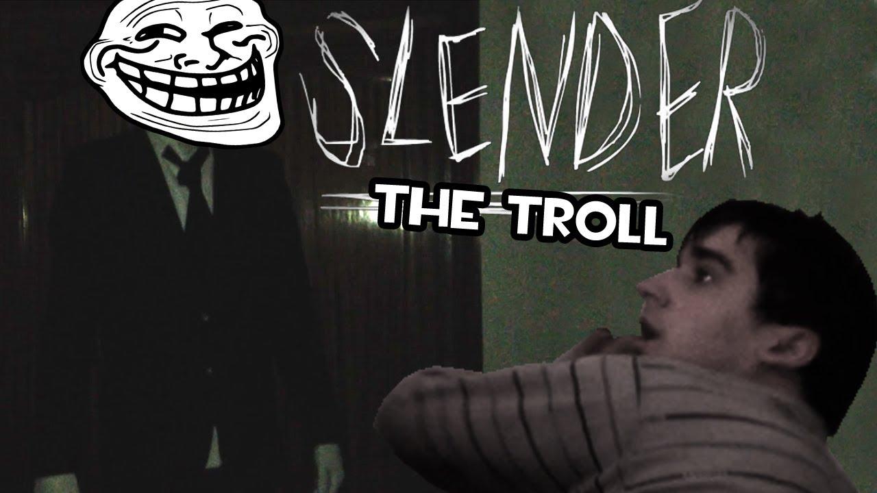 Slender Troll | ASUSTANDO A MI HAMIJO MIENTRAS DUERME #rubius #rubiusomg