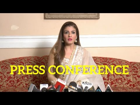 Press Conference With Raveena Tandon For Film Maatr