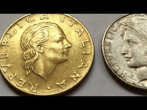 Moneta 200 Lire 1979 della Repubblica Italiana Most Valuable Italian Vintage Coin Collection