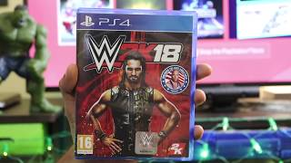 WWE 2K18 Unboxing For PS4 PRO ( Diwali special )