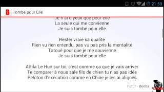 Video Youtube de Booba Lyricist (Lyrics)