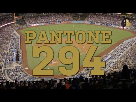 La Vida Baseball Fanaticos: Pantone 294
