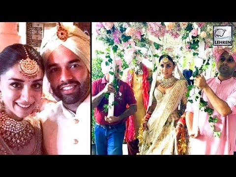 Amrita Puri Ties Knot With Imrun Sethi In A Fairytale Wedding   LehrenTV