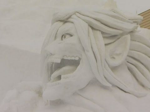 WATCH: Snow Festival in Japan wows visitors