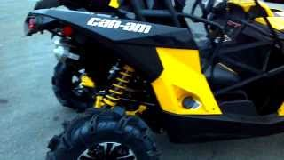 6. 2014 Can-Am Maverick 1000 Mud Racer XMR 101 hp Snorkels @ Alcoa Good Times