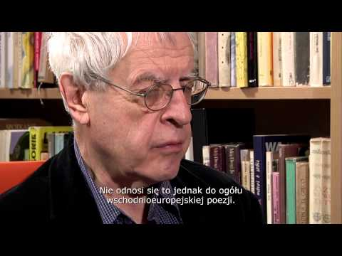 Charles Simic - Writers in Motion