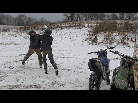Dirt Bike Pay Back Fight
