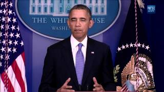 President Obama says that if Congress does not fulfill its responsibility to pass a budget today, much of the United States government will be forced to shut down tomorrow.
