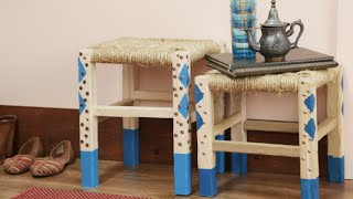 How to Make a DIY Moroccan Stool by POPSUGAR Food