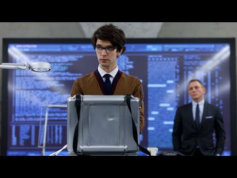 Skyfall (2012) - Q's (Ben Whishaw) Hacking Scene (1080p)