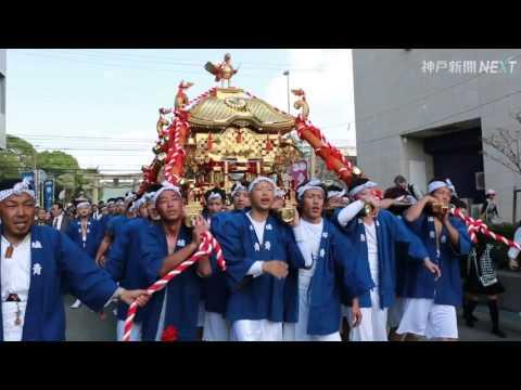 海神社の海上渡御祭