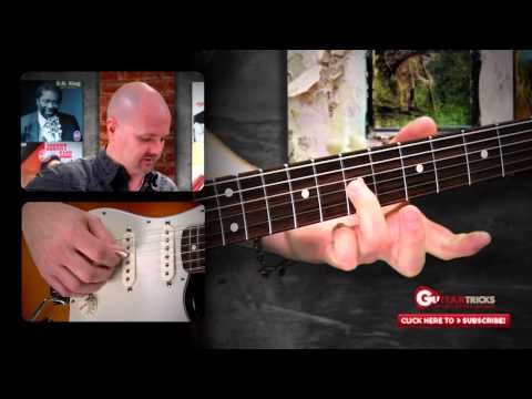 Killer Blues Vibrato – Blues Guitar Lesson – Fee Beginner Guitar Lesson – Guitar Tricks