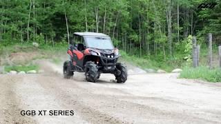 9. Exhaust Comparison under load Can-Am Maverick Trail 1000 Stock VS GGB XT Series Slip-On Muffler