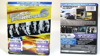 Nonton Fast & Furious 6 Blu-Ray Collector's SteelBook Unboxing Film Subtitle Indonesia Streaming Movie Download