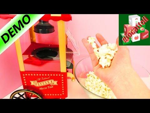 Buonissimi Popcorn in soli due minuti! La macchina vintage dei Popcorn!