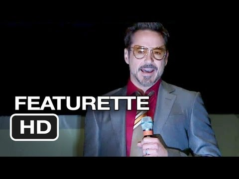 Iron Man 3 Featurette - Comic Con (2013) - Marvel Movie HD