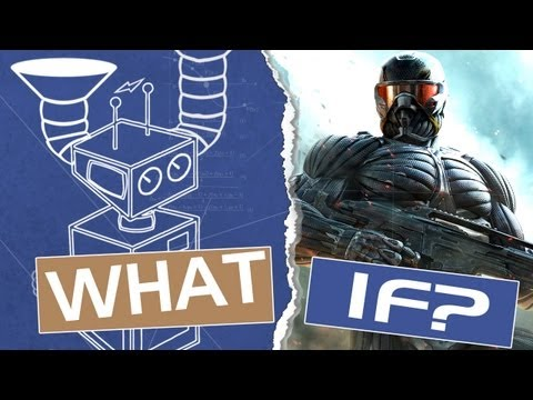 crysis - This week The What If Machine sets its sights on the Crysis Nanosuit. Just how close can modern science bring to building this tank-in-a-tux? Watch Start/Sel...