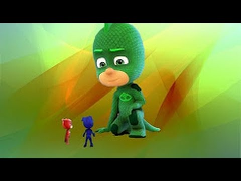 PJ Masks Full Episodes 49 & 50 Super-Sized Gekko Take to the Skies, Owlette Cartoons for Kids #2