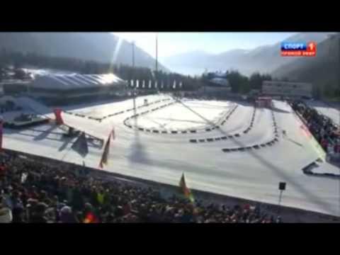 Финиш казахстанского биатлониста Яна Савицкого с лучшим результатом в карьере