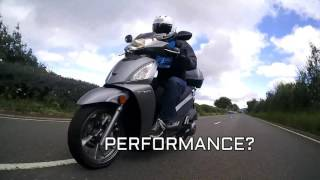 6. SLUK | Kymco People 300 GTi GT300i road test review - Euro 4 ABS