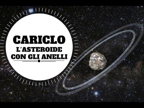 cariclo, l'asteroide con gli anelli