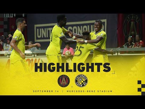 Video: EXTENDED HIGHLIGHTS: Columbus Crew SC at Atlanta United FC - September 14, 2019