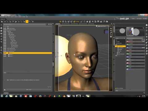Using Beautiful Skin Iray For Genesis 2 Female (And Genesis 2 Male) (видео)