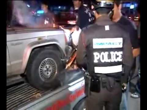Vidéo choc d'un accident en Thaïlande - Ames sensibles s'abstenir