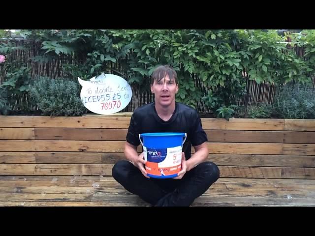 Benedict Cumberbatch's Ice Bucket Challenge just won't quit. – Viral Video