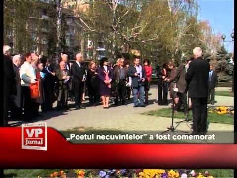 """""""Poetul necuvintelor"""" a fost comemorat"""