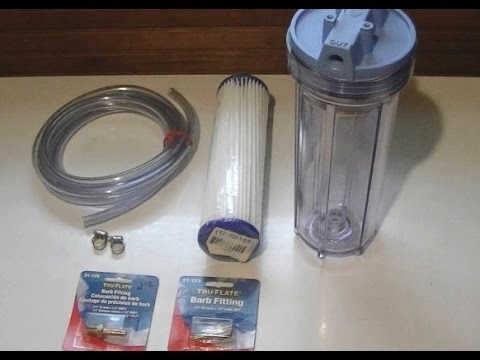 How to Filter Home Brew – Tom's Beer Channel