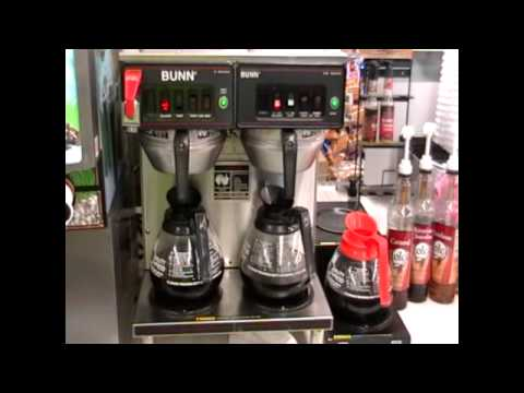 Scrapping a commercial coffee maker
